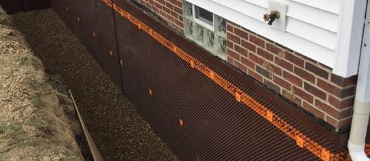 Professional basement waterproofers serving columbus ohio Exterior basement waterproofing