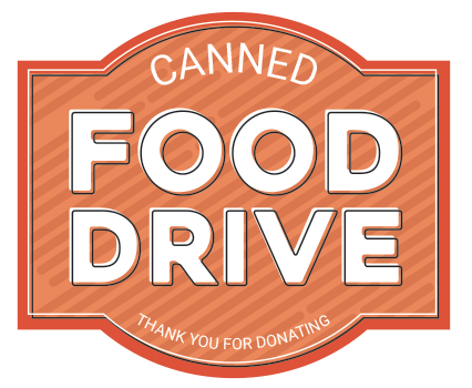 Canned Food Drive Badge